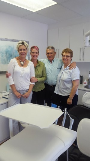 dr de wet team westhof dental surgery